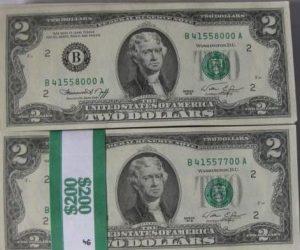 tiền 2 usd 1976